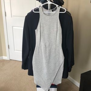 Lulus grey bodycon dress